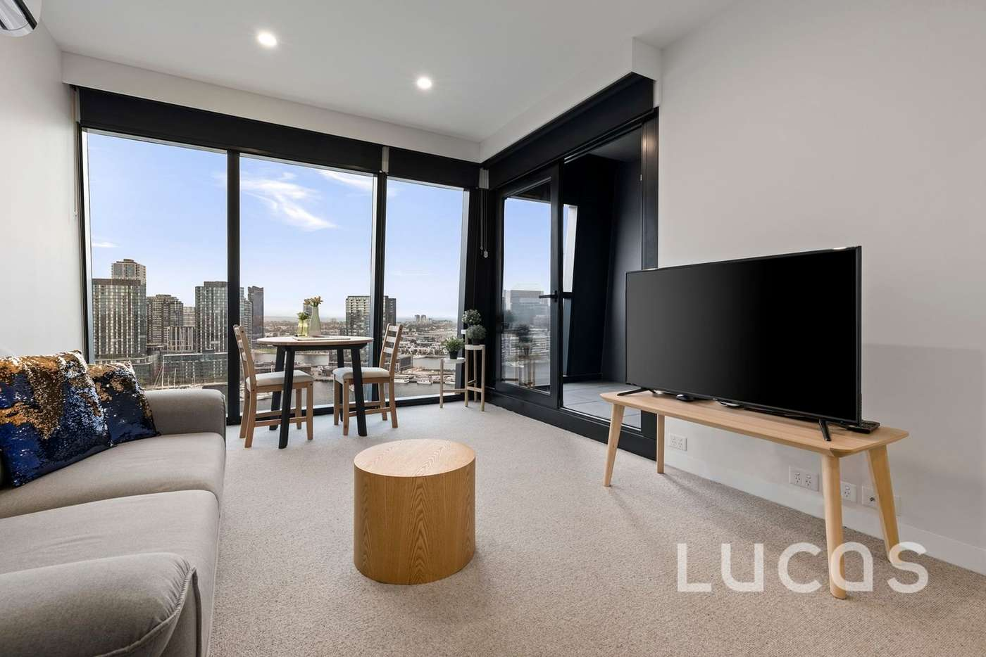 Main view of Homely apartment listing, 1214/8 Pearl River Road, Docklands VIC 3008