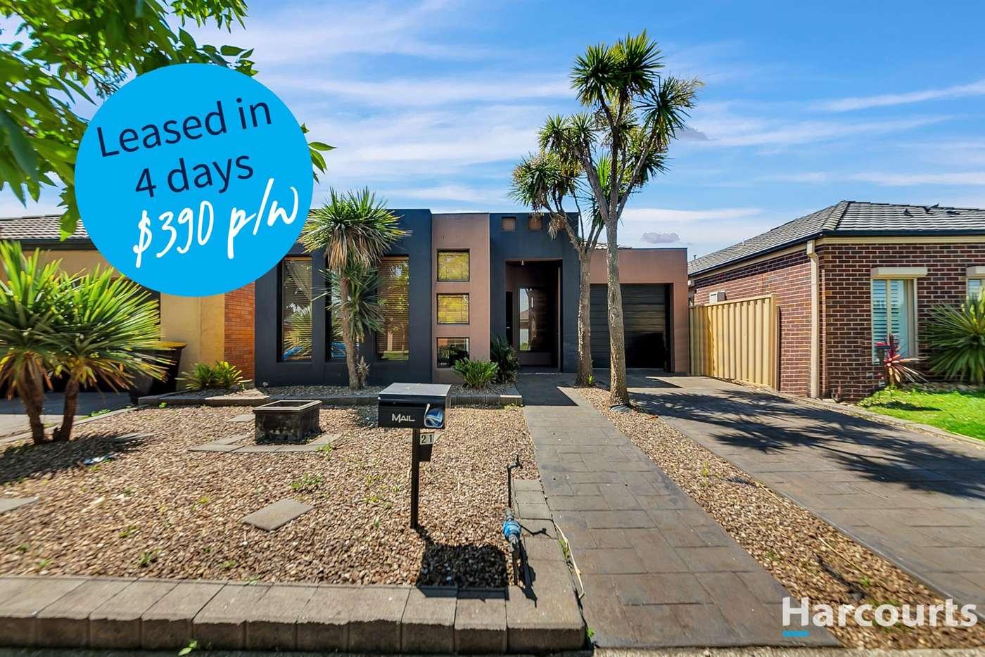 Main view of Homely house listing, 21 Alexandra Gardens, Caroline Springs VIC 3023