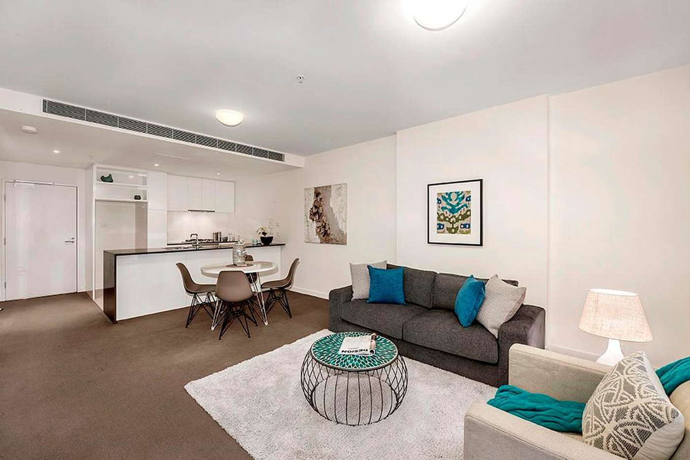 Main view of Homely apartment listing, 1602/8 Marmion Place, Docklands VIC 3008