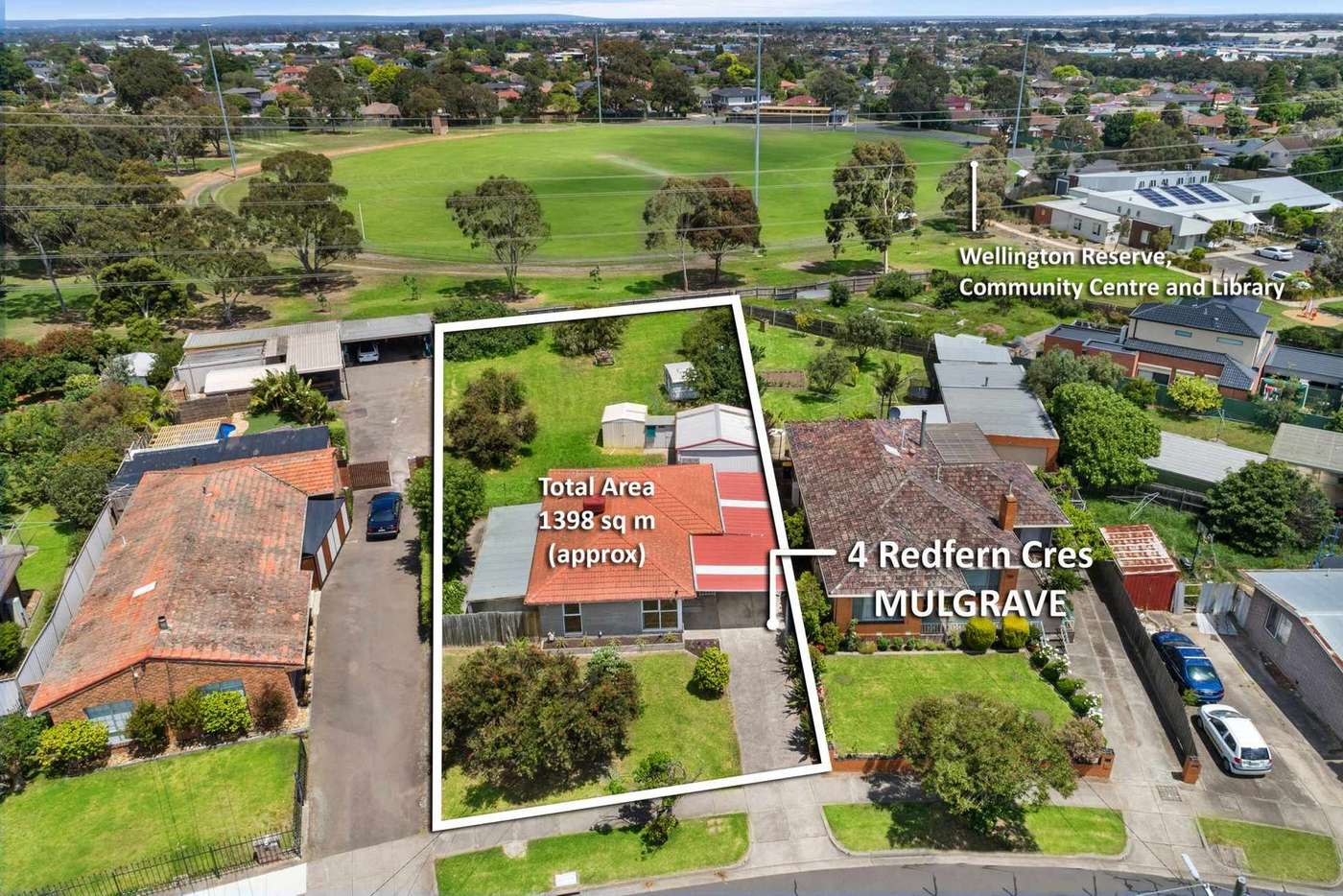 Main view of Homely house listing, 4 Redfern Crescent, Mulgrave VIC 3170