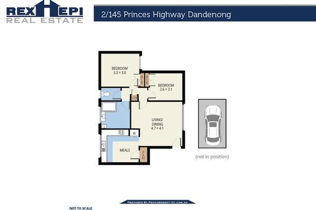 Apartment 2/145 Princes Highway, Dandenong VIC 3175