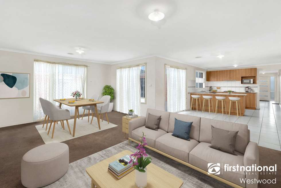 Second view of Homely house listing, 9 Tony Drive, Truganina VIC 3029