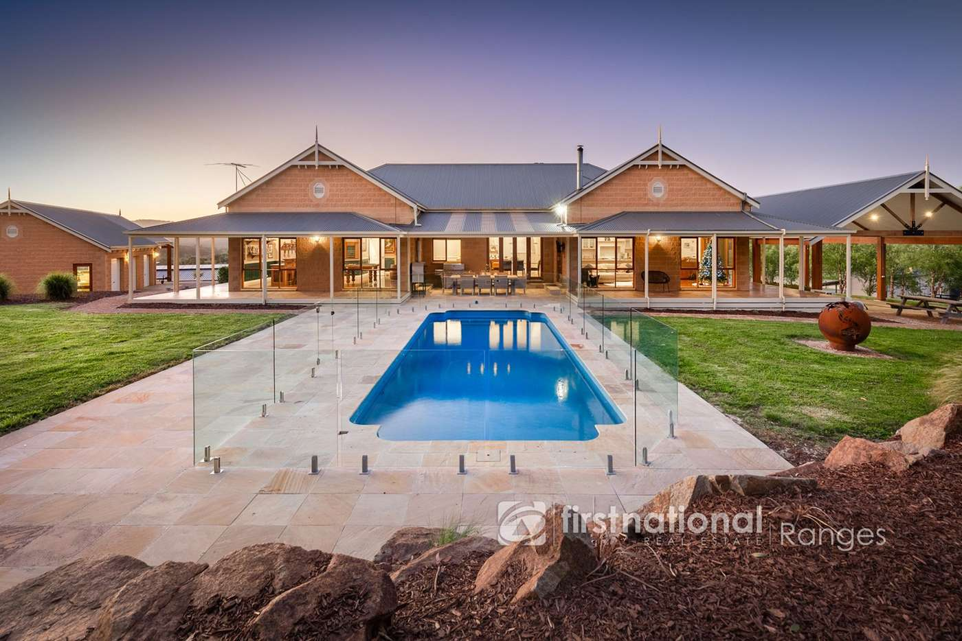 Main view of Homely acreageSemiRural listing, 1 Legg Road, Macclesfield VIC 3782
