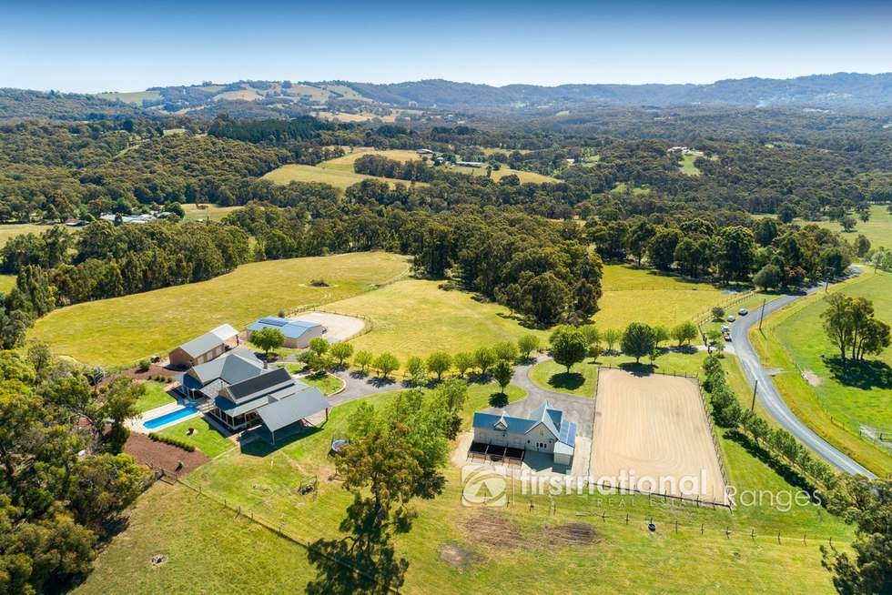 Second view of Homely acreageSemiRural listing, 1 Legg Road, Macclesfield VIC 3782