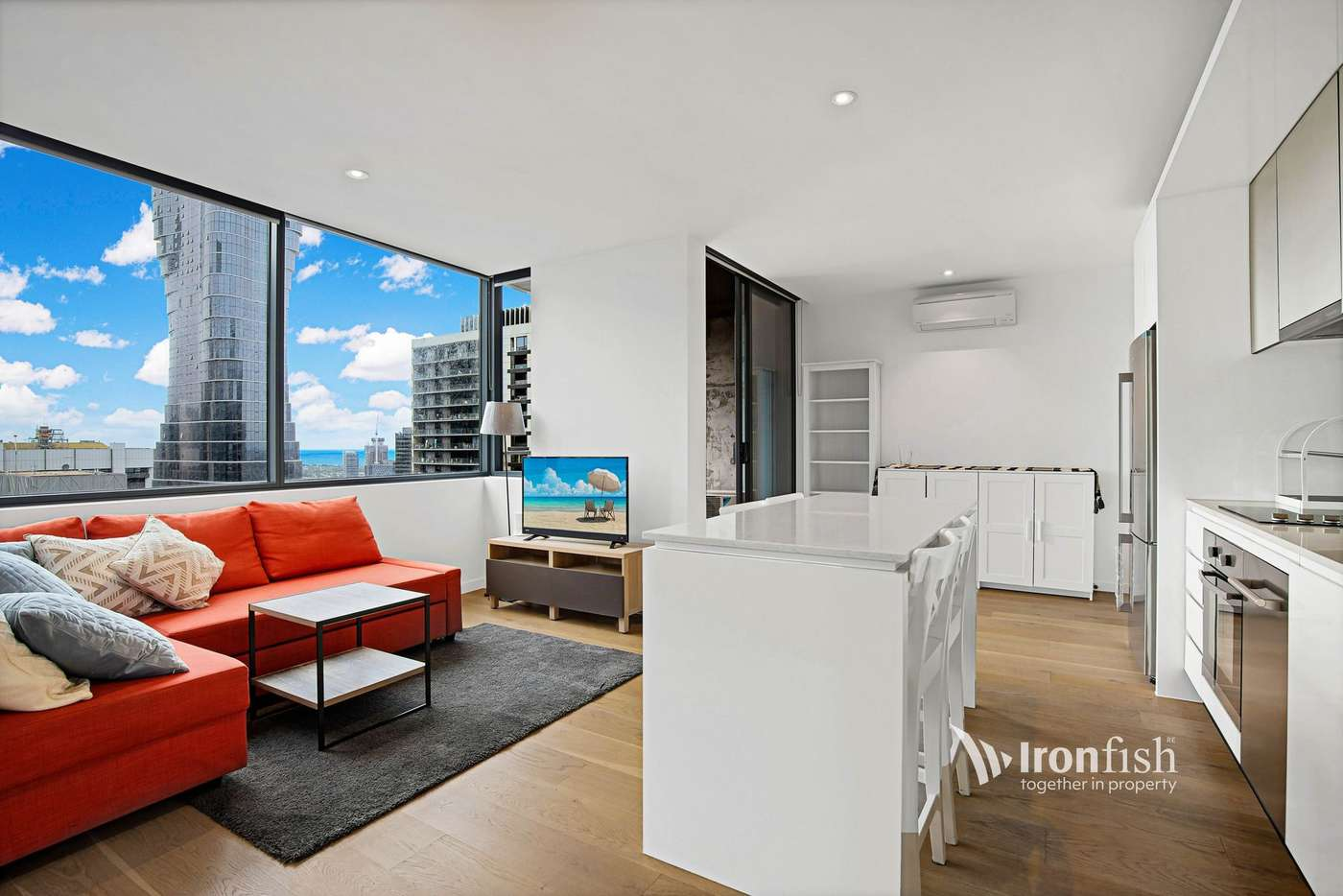 Main view of Homely apartment listing, 3202/33 Rose Lane, Melbourne VIC 3000