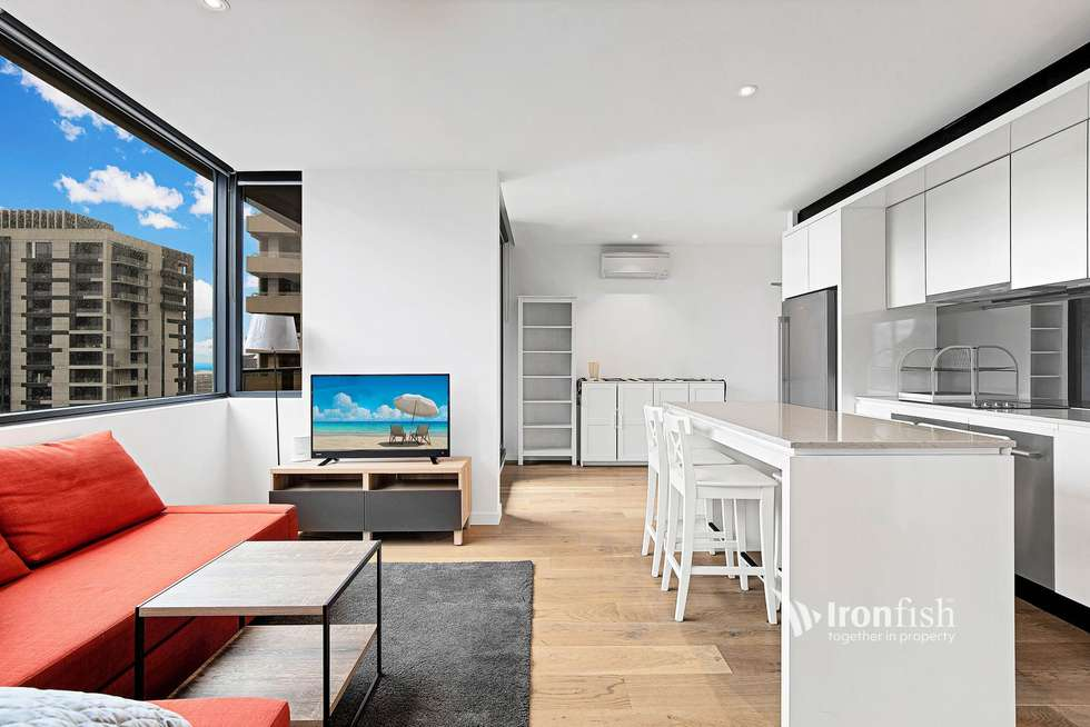 Second view of Homely apartment listing, 3202/33 Rose Lane, Melbourne VIC 3000