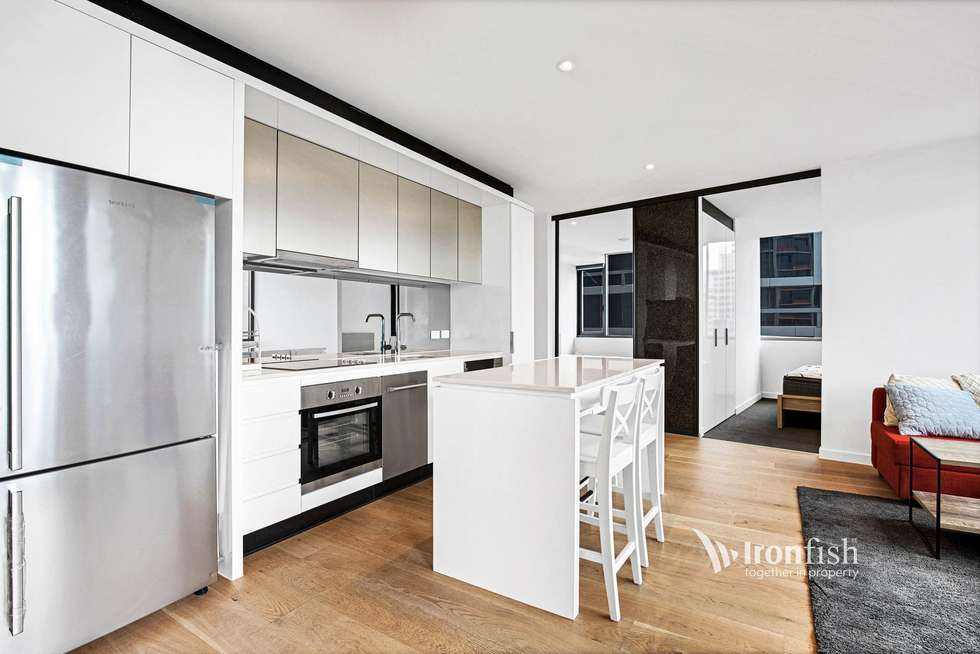 Third view of Homely apartment listing, 3202/33 Rose Lane, Melbourne VIC 3000