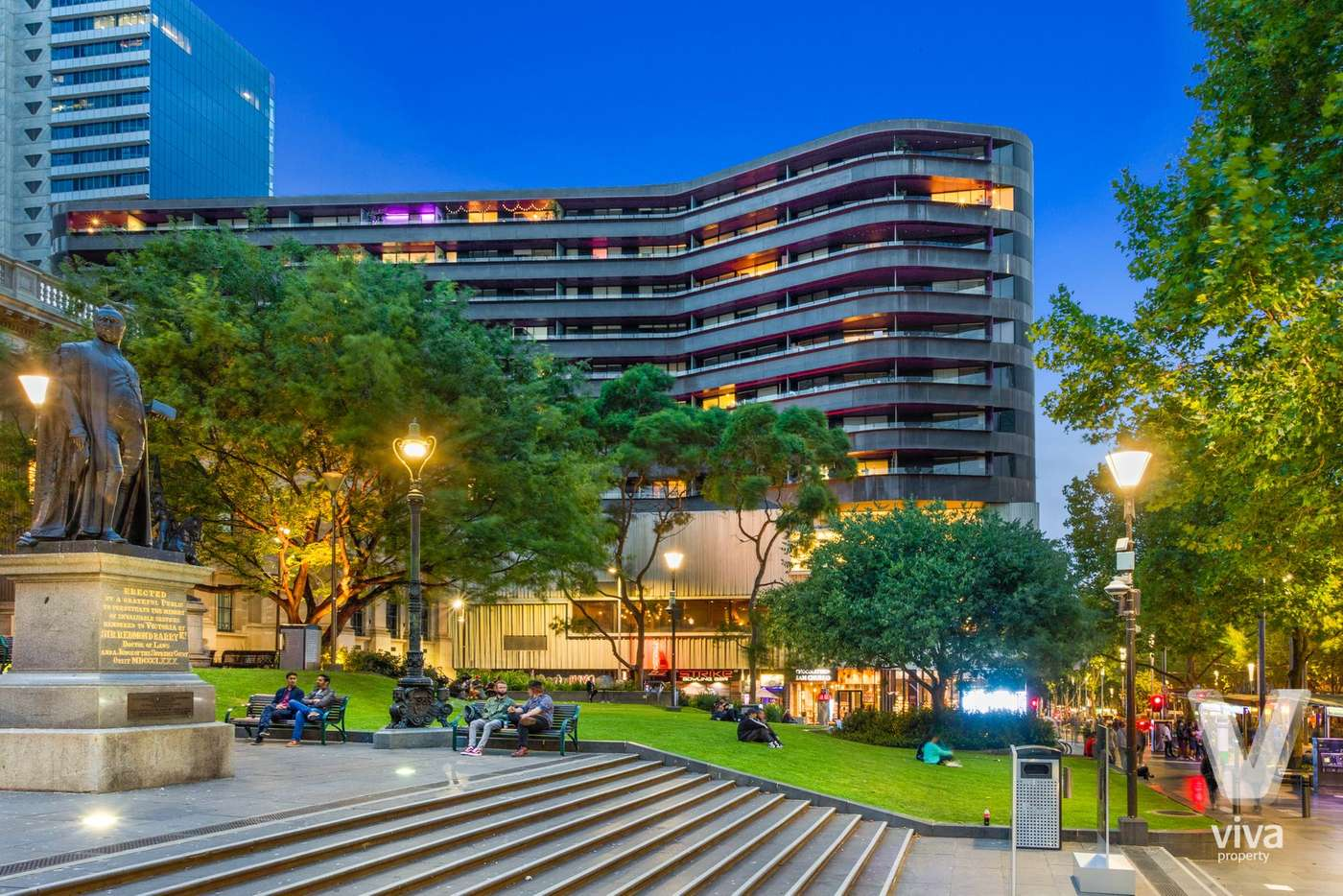 Main view of Homely apartment listing, 701/300 Swanston Street, Melbourne VIC 3000