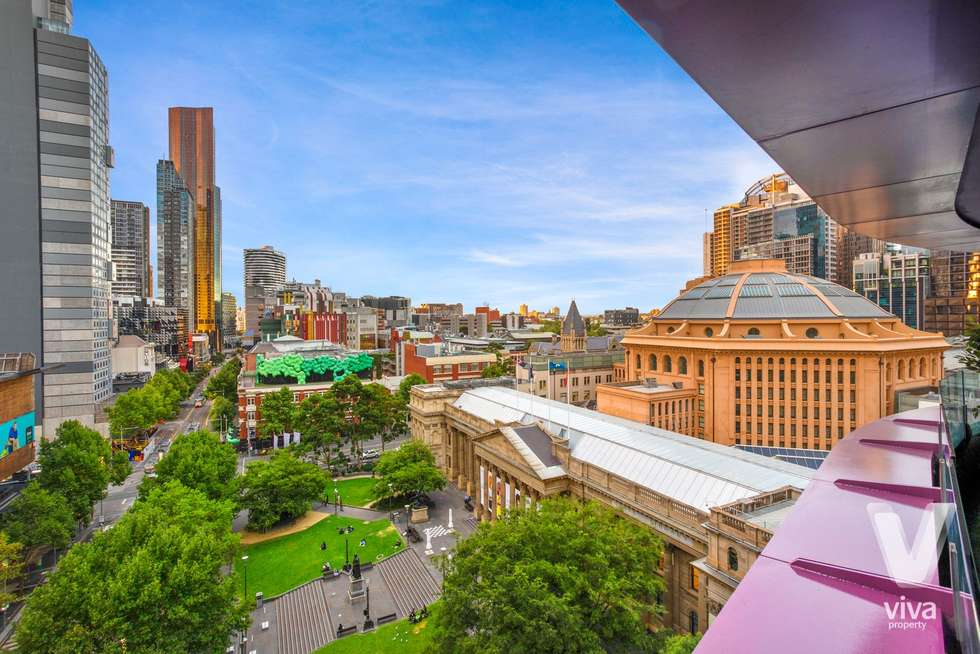 Second view of Homely apartment listing, 701/300 Swanston Street, Melbourne VIC 3000