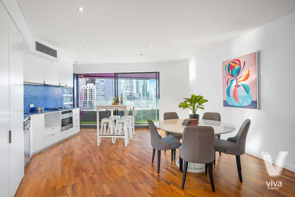 Third view of Homely apartment listing, 701/300 Swanston Street, Melbourne VIC 3000