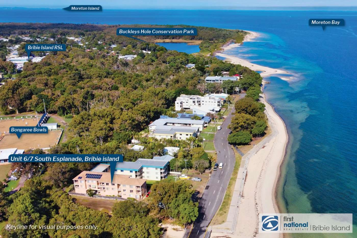 Main view of Homely unit listing, 6/7 South Esplanade, Bongaree QLD 4507