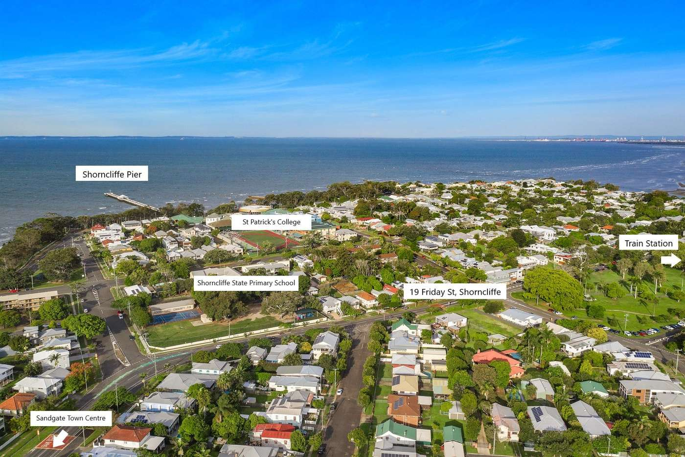 Main view of Homely house listing, 19 Friday Street, Shorncliffe QLD 4017