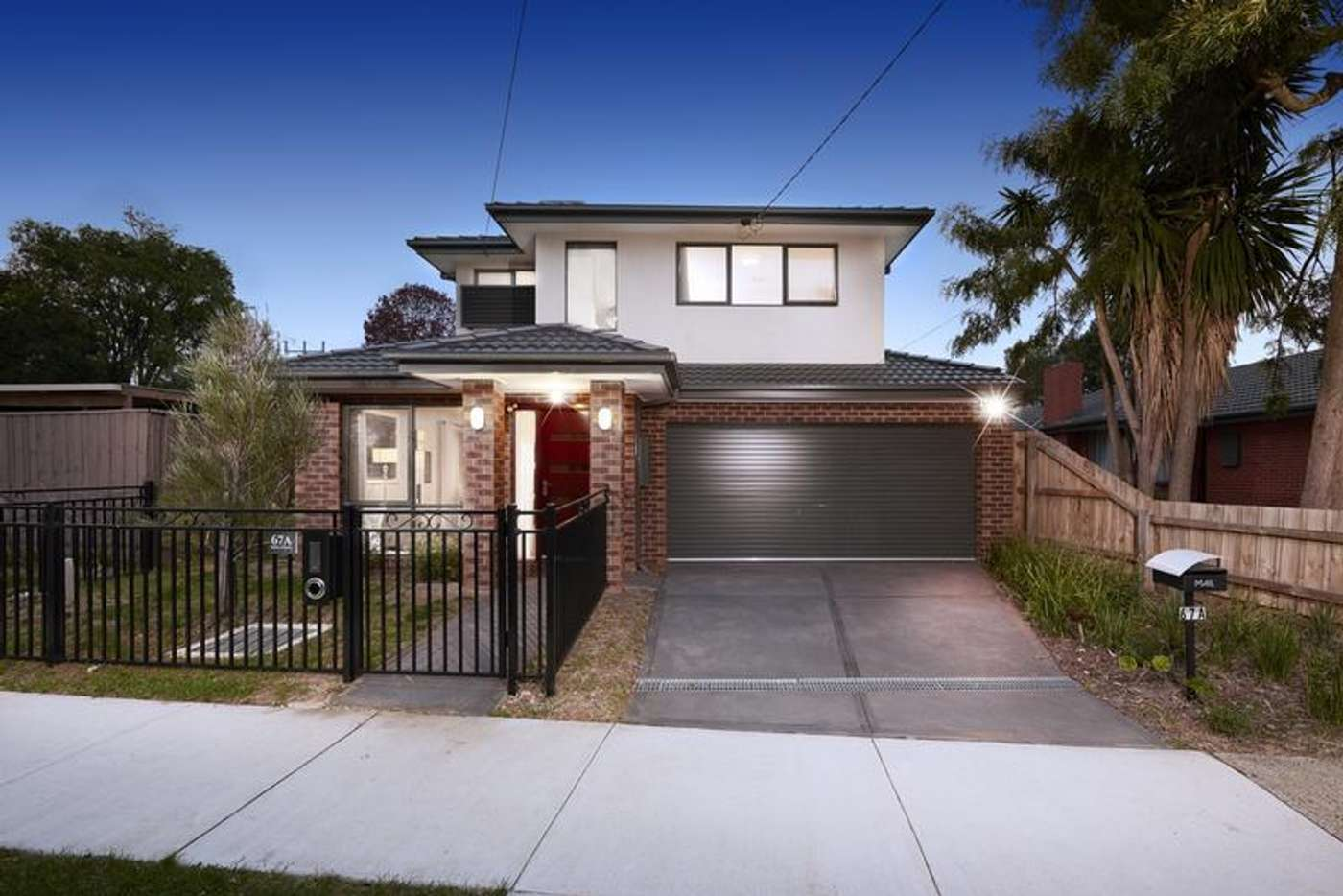 Main view of Homely townhouse listing, 67A Adele Avenue, Ferntree Gully VIC 3156