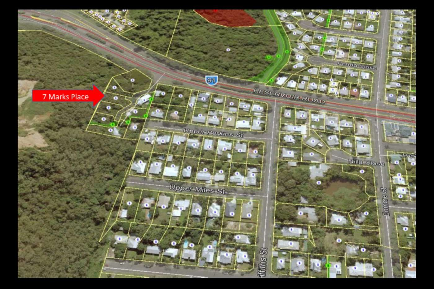Main view of Homely residentialLand listing, 7 Marks Place, Manoora QLD 4870
