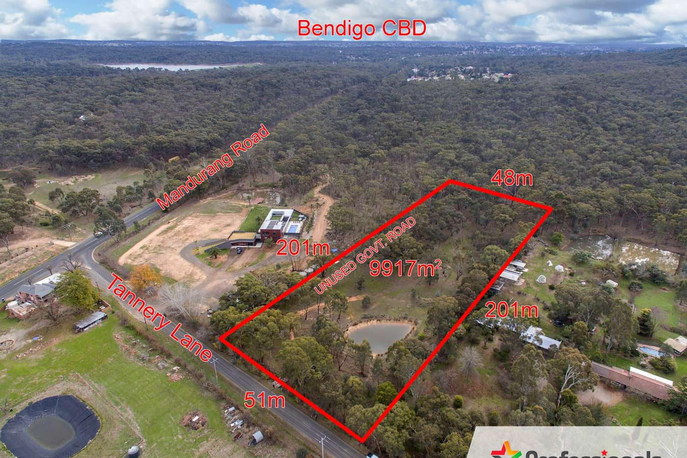 Main view of Homely residentialLand listing, Lot 10 Tannery Lane, Mandurang VIC 3551