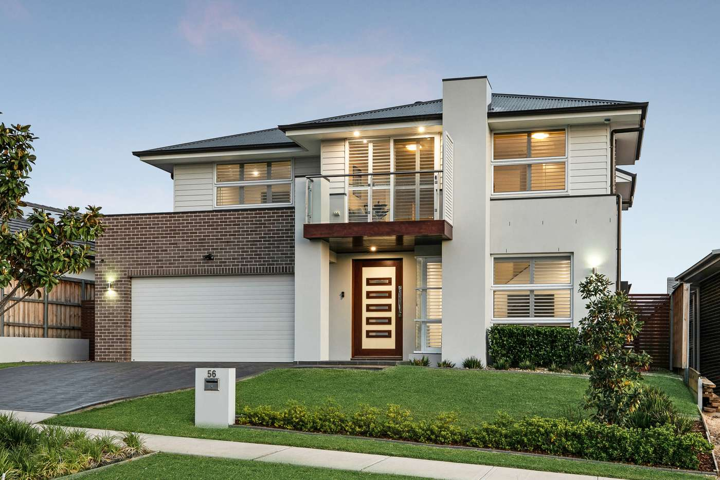 Main view of Homely house listing, 56 Lillydale Avenue, Gledswood Hills, NSW 2557