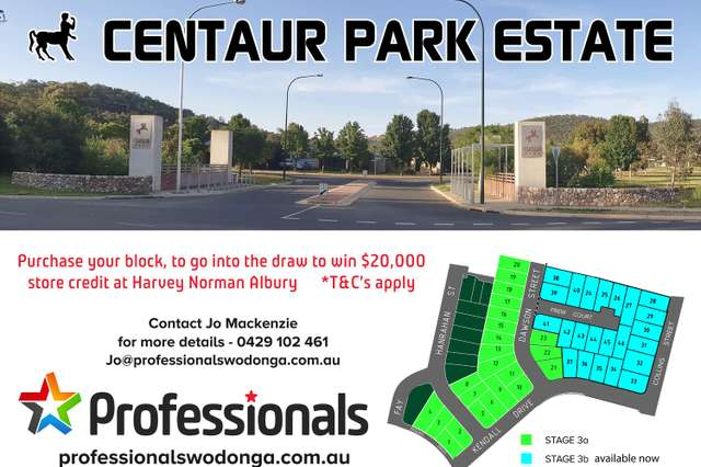 Lots 1 - 23 Centaur Park, Hamilton Valley NSW 2641