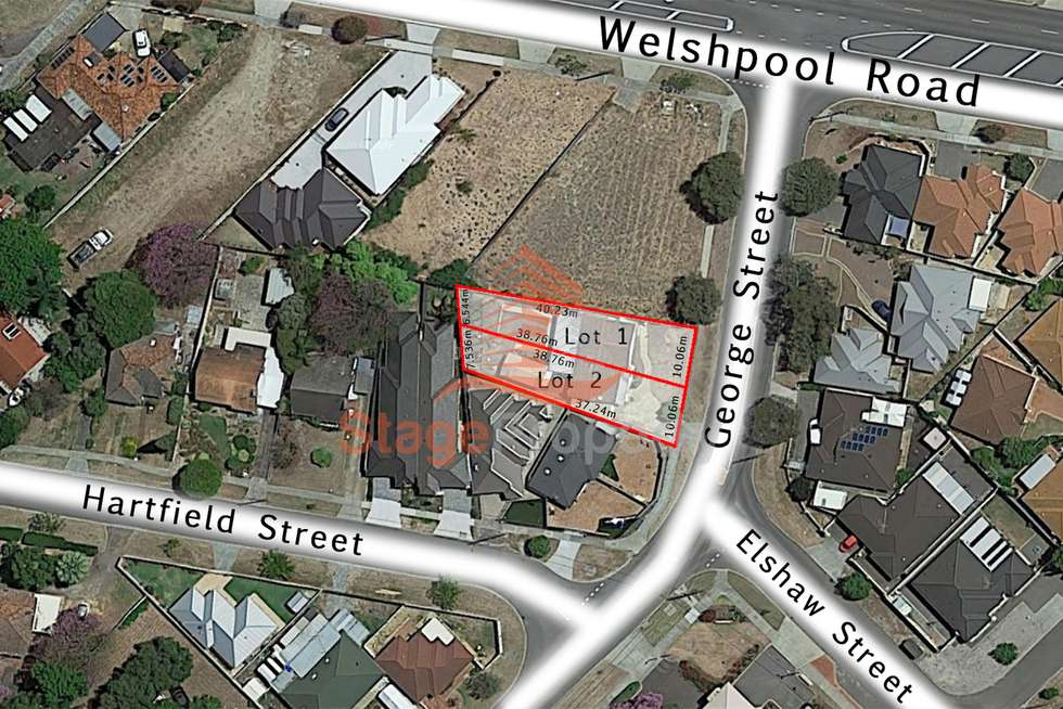 Second view of Homely residentialLand listing, 282 George Street, Queens Park WA 6107