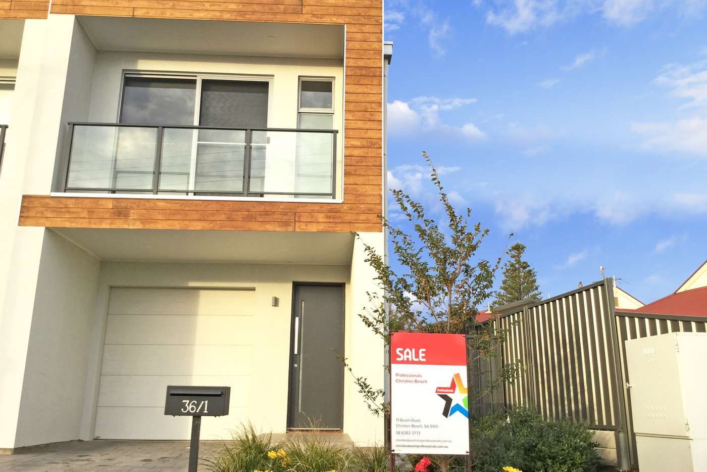 Main view of Homely townhouse listing, 1/36 Clement Terrace, Christies Beach SA 5165