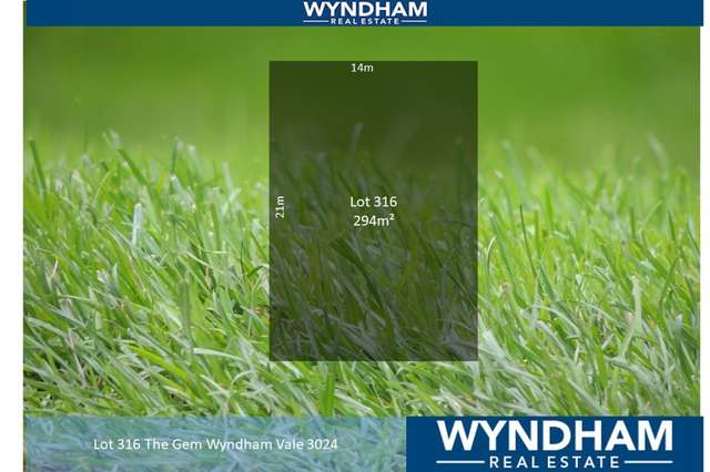 Lot 316 The Gem, Wyndham Vale VIC 3024