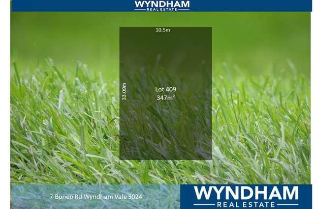 LOT Lot/409 Boneo Road, Wyndham Vale VIC 3024