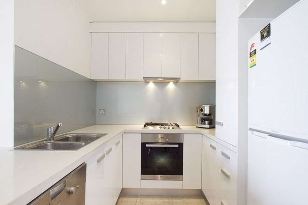 Second view of Homely apartment listing, 606/58 Jeffcott Street, West Melbourne VIC 3003