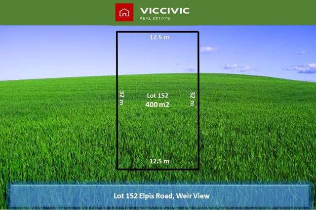 Lot 152 Elpis Road, Weir Views VIC 3338