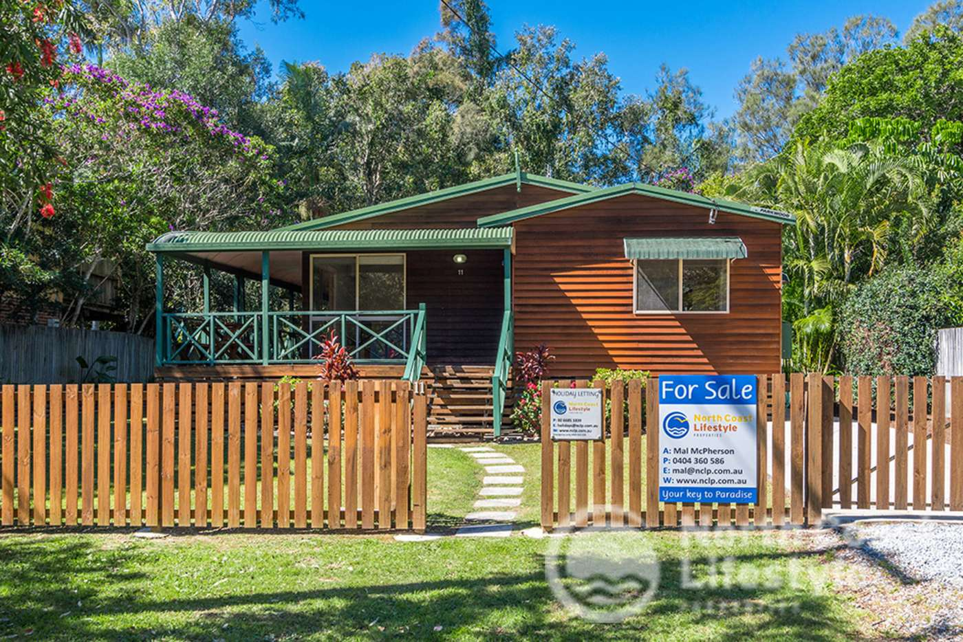 Main view of Homely house listing, 11 Royal Avenue, South Golden Beach NSW 2483