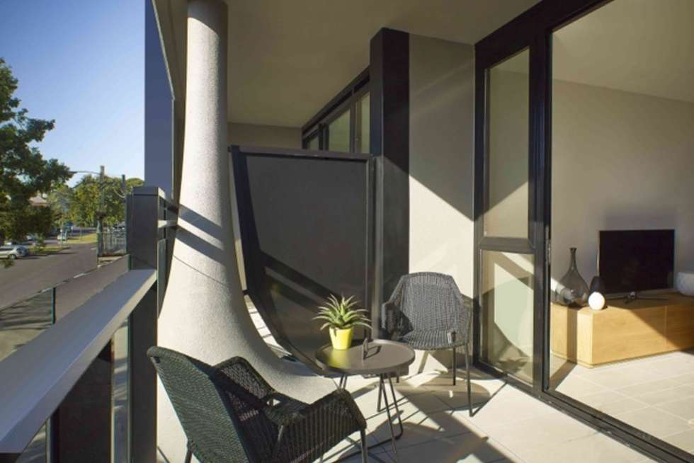 Fourth view of Homely apartment listing, 106/87 Roden Street, West Melbourne VIC 3003