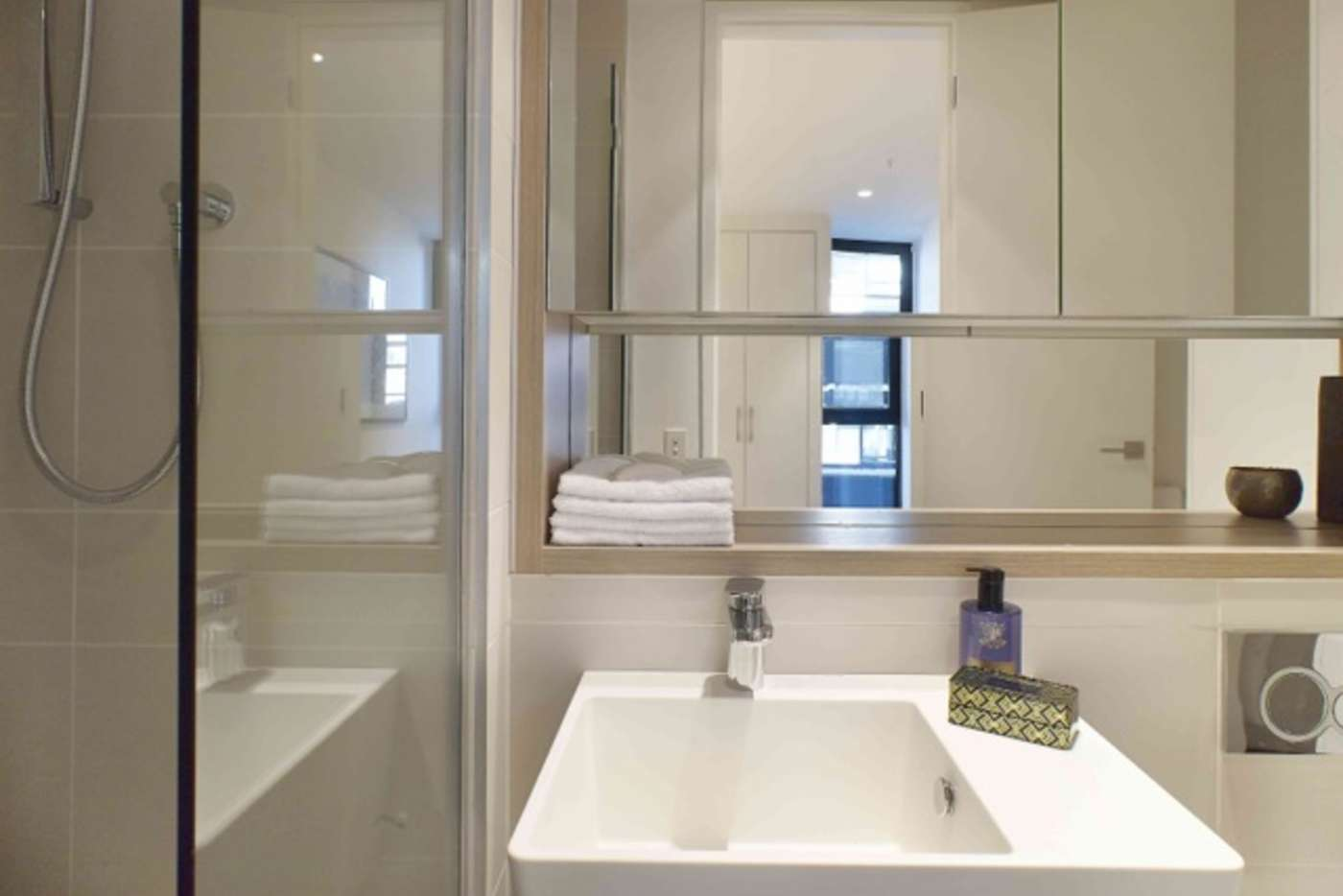 Sixth view of Homely apartment listing, 106/87 Roden Street, West Melbourne VIC 3003