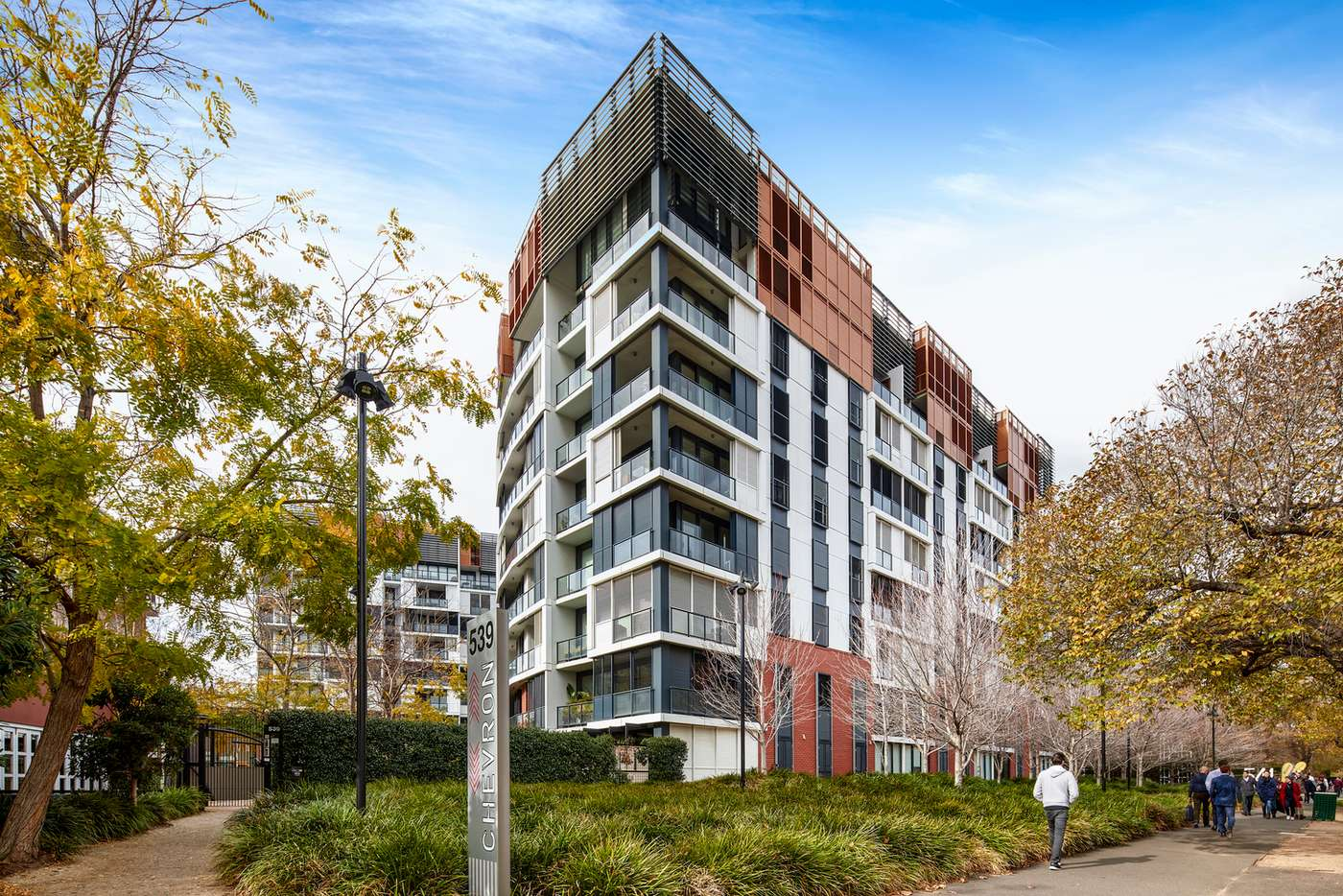 Main view of Homely apartment listing, 409/539 St Kilda Road, Melbourne VIC 3004