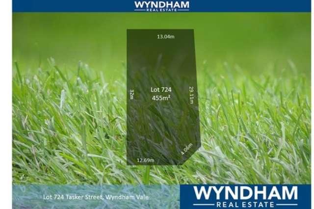LOT Lot/724 Tasker Street, Wyndham Vale VIC 3024