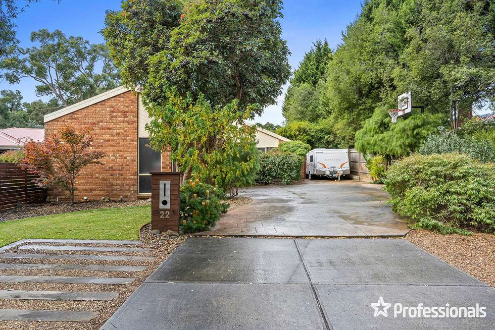 Second view of Homely house listing, 22 Clarkedale Rise, Kilsyth South VIC 3137