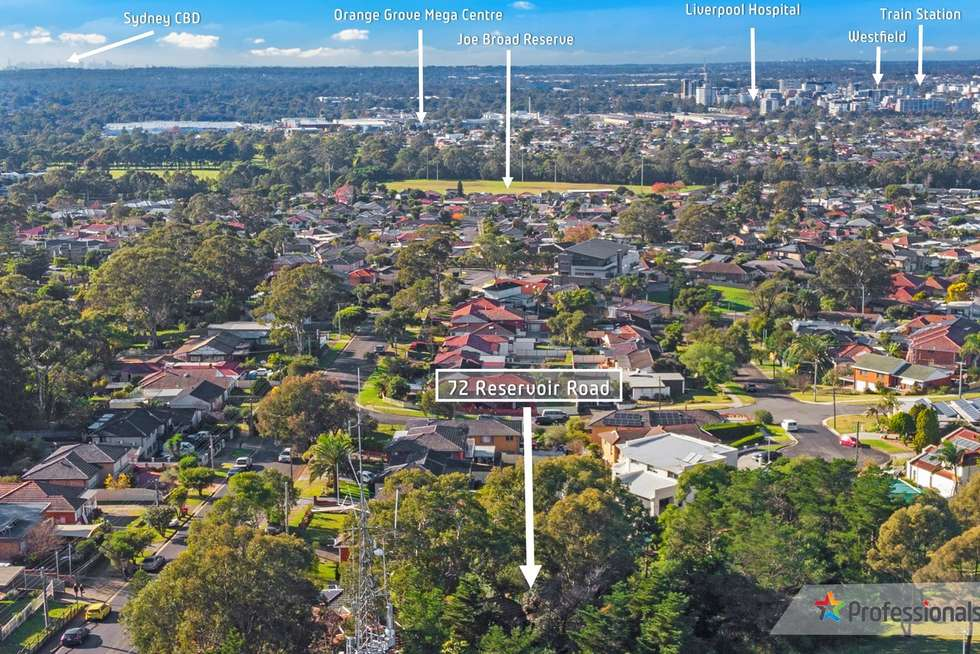 Second view of Homely residentialLand listing, 72 Reservoir Road, Mount Pritchard NSW 2170