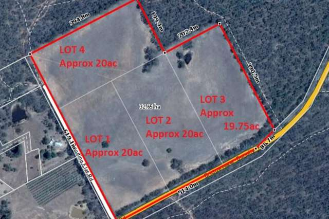 LOT Lots/1-4 Sporting Flat Road, Dunolly VIC 3472